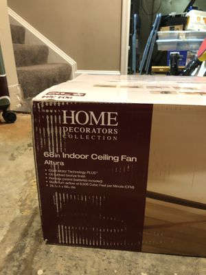 """68"""" Indoor Ceiling Fan for Sale in Brookeville, MD"""