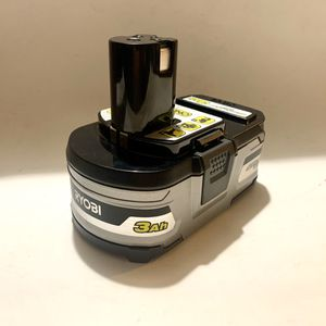 RYOBI 18-Volt ONE+ Lithium-Ion 3.0 Ah LITHIUM+ HP High Capacity Battery for Sale in Azusa, CA