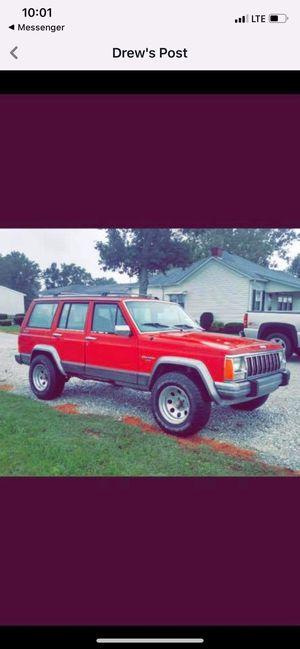 92 Cherokee 4×4 for Sale in Shelbyville, IN