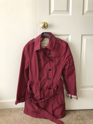 Burberry raincoat for Sale in Vienna, VA