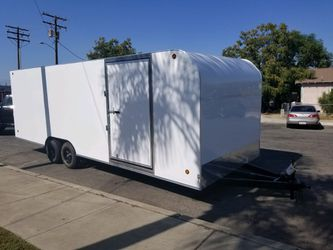 8-1/2 x 24 x 7 Enclosed Trailer Available NOW!! for Sale in Simi Valley,  CA