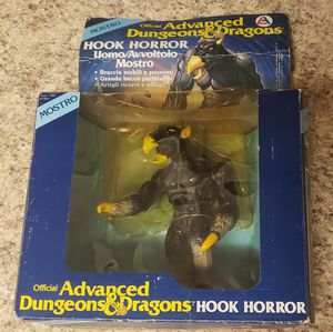 Vintage 1983 LJN Dungeons & Dragons Hook Horror Figure Italian Box RARE! Hooked for Sale in Aurora, CO