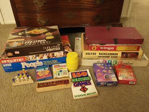Vintage Board game lot for Sale in Rancho Cordova, CA
