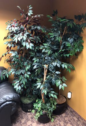 4 Artificial plant potted art for home or office $60 for Sale in West Bloomfield Township, MI