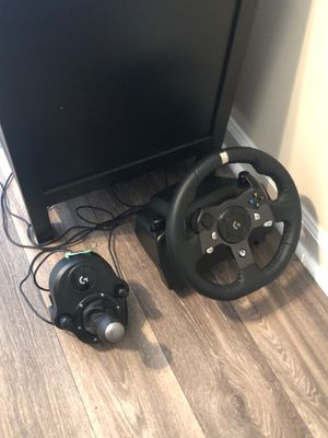 Gaming wheel setup Xbox and computer for Sale in Roswell, GA