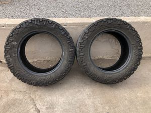 Nitro Trail Grappler M/T tires. for Sale in Cheyenne, WY
