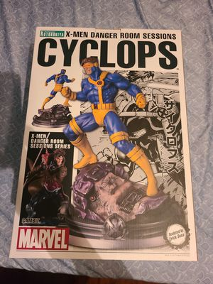 Kotobukiya Marvel Fine Art Statue Danger Room Sessions Cyclops Resin Figure Very Rare Like New Open Box for Sale in Anaheim, CA