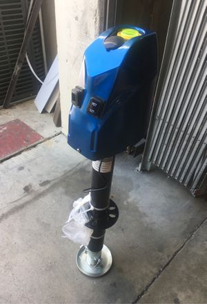 12000lbs electric RV trailer jack for Sale in Hacienda Heights, CA