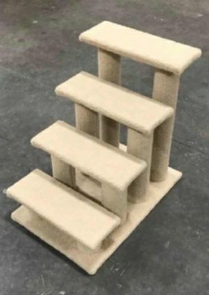 New in box 24 inches tall x 24 inch wide stepping stair climbing pet furniture cat tree stairs for Sale in Whittier, CA