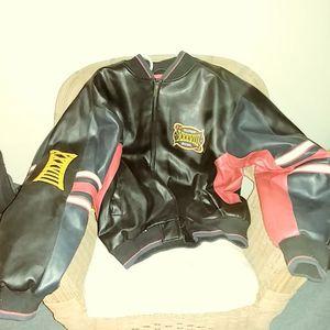 2004 superbowl 38 jacket for Sale in Lynchburg, VA