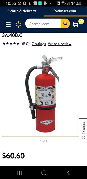 Fire extinguisher for Sale in Bakersfield, CA