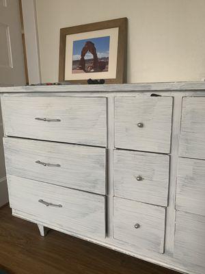White Wood Dresser for Sale in Seattle, WA