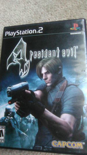 Resident Evil 4 PlayStation 2 for Sale in Raleigh, NC