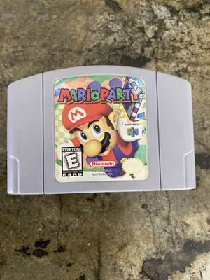 nintendo 64 game pak mario party for Sale in Miami, FL