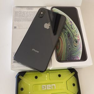 📲 256GB IPHONE XS UNLOCKED WORKS WITH ANY CELLPHONE COMPANY FEEL FREE TO MEET IN CELLPHONE STORE AND VERIFY EVERYTHING WORKS💯%✅ for Sale in Escondido, CA