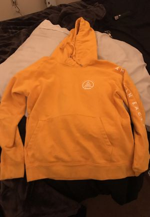 yellow american eagle hoodie size L $20 for Sale in Glendale, AZ