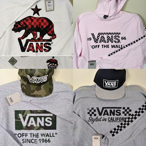 Vans Long Sleeve Tees and hats for Sale in Edgewood, KY