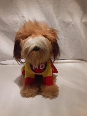 """Dakin Carnation Mighty Dog 10"""" Advertising Plush Vintage 1986 for Sale in East Point, GA"""