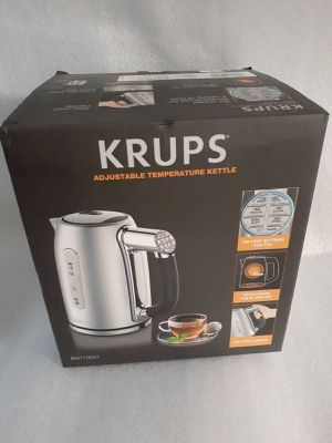 Krups Adjustable Temperature Kettle 1,7Ltr. -New-Price firm. for Sale in Kent, WA