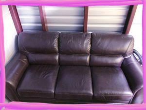 Lazy Boy Leather Sofa for Sale in Mesa, AZ