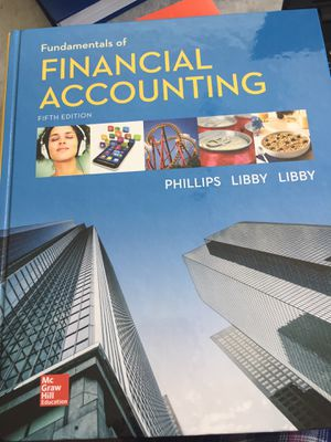 Fundamentals of Financial Accounting for Sale in Delaware, OH