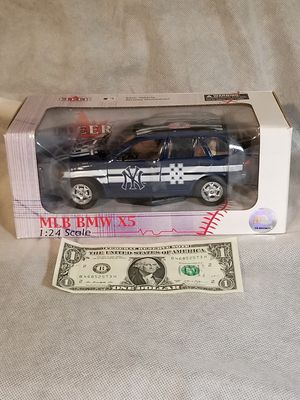 New York Yankees 1/24 scale BMW X5 for Sale for sale  Elk Grove, CA