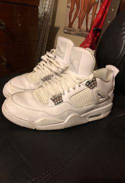 Jordan retro 4 pure moneys for Sale in Wichita,  KS