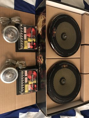 "New components 6.5 "" car audio speakers by dragon sounds for Sale in Phoenix, AZ"