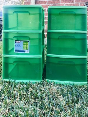 Plastic drawers for Sale in Sugar Land, TX