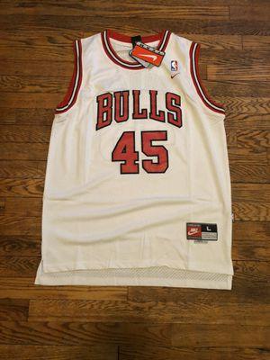 Chicago Bulls Michael Jordan Retro Jersey Sz L for Sale in Clifton, NJ