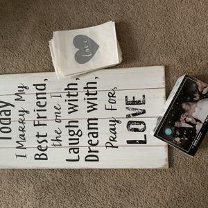 Wedding Stuff! for Sale in Riverview, FL