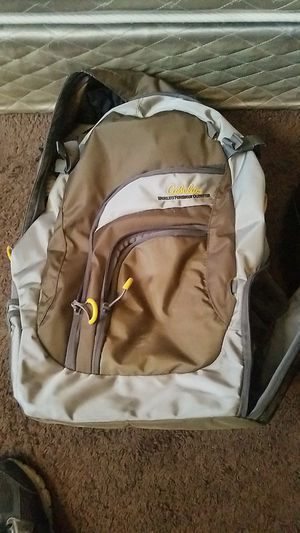 Fully stocked Cabelas fishing backpack for Sale in Lake View Terrace, CA