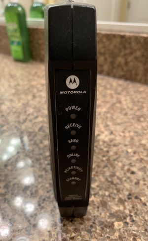Motorola SURFboard SB5101 DOCSIS 2.0 cable modem for Sale in Fulton, MD
