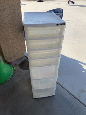 Plastic drawers for Sale in Laveen Village, AZ