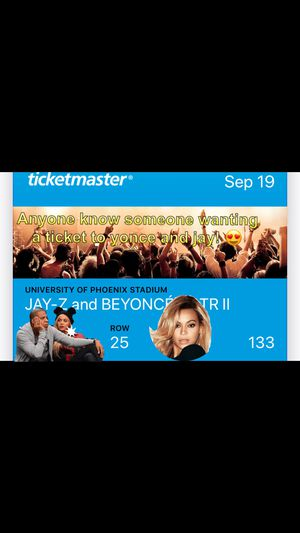 Beyoncé & JayZ On The Run Tour II for Sale in Fort McDowell, AZ