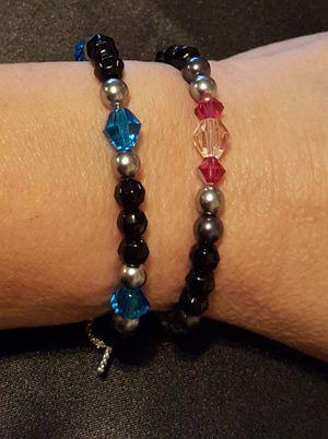 Swarovski Crystal Bracelets and Choker size Necklaces for Sale in Graham, WA
