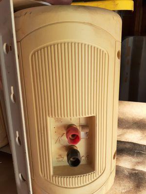 Klipsch audio outdoor speakers w/ mounting brackets for Sale in Aurora, CO