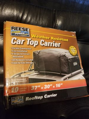 Reese Car Top Carrier for Sale in Carleton, MI