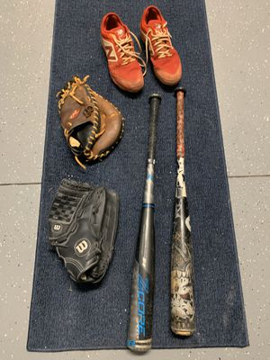 Baseball bats, gloves, cleats for Sale in St. Petersburg, FL