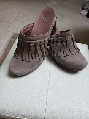 Dansko Demi Fringe clog size 40 or size 10 for Sale in Hinsdale, IL