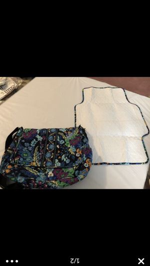 Vera Bradley diaper bag w changing pad for Sale in New York, NY