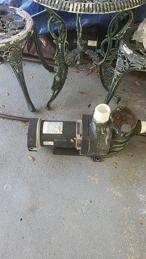 1hp pool pump for Sale in Zephyrhills, FL