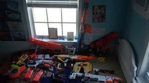 Nerf guns , and accessories,some are discontinued for Sale in Hobe Sound, FL