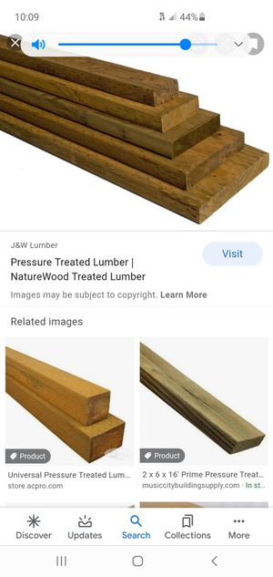 Pressure treated lumber for Sale in North Olmsted, OH