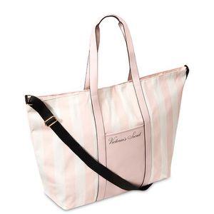 NEW! Victoria's Secret Signature Stripe Tote bag for Sale in Phoenix, AZ