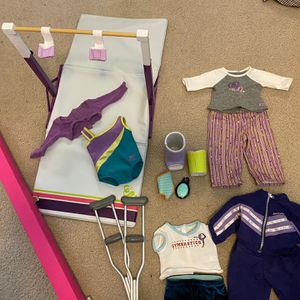 American Girl Doll Gymnastics Set for Sale in San Diego, CA
