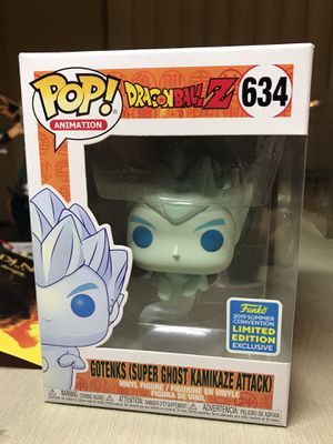 Funko Pop Gotenks (Super Ghost Kamikaze Attack) DBZ Sold Out for Sale in Los Angeles, CA