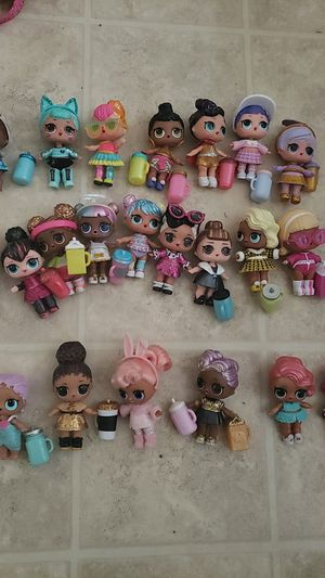 LOL dolls $9.00 each doll for Sale in San Lorenzo, CA