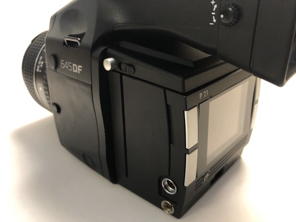 Mamiya / Phase one DF medium format camera, 80mm 2.8 LS lens, and Phase one P21 digital back