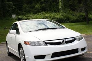 Great 2008 Honda Civic FWDWheels White Exterior for Sale in Chicago, IL